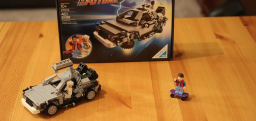 "The Lego cuusoo ""Back To The Future"" DeLorean"