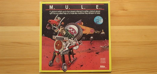 M.U.L.E. mini-LP box - Ozark Softscape and Electronic Arts, 1983.