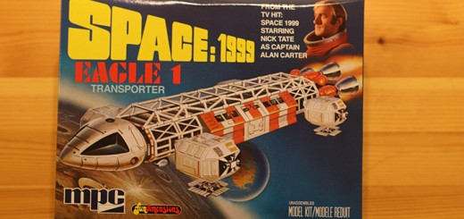 MPC's Space 1999 Eagle Transporter plastic model kit