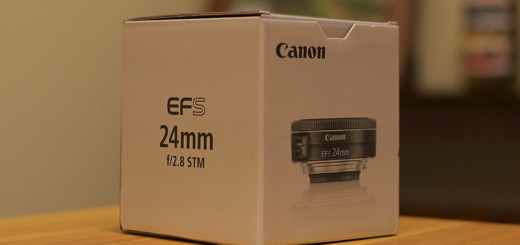 The Canon EF-S 24mm f/2.8 STM lens.
