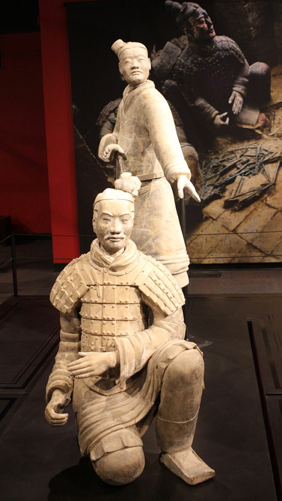Standing Archer and Kneeling Crossbower, Terracotta Army, circa 221-206 BCE.