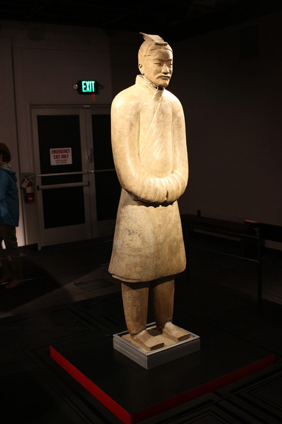 Imperial Official, Terracotta Army, circa 221-206 BCE.