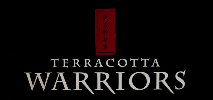The Terracotta Warriors logo - Pacific Science Center, Seattle 2017.